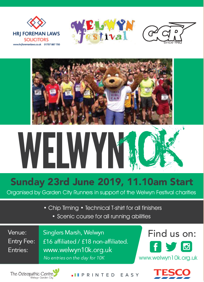 Welwyn 10k logo